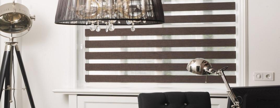 Duo rolgordijnen (Facetlight), een unieke vorm van raamdecoratie